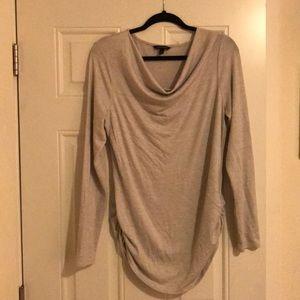 Banana republic cowl neck gray sweater